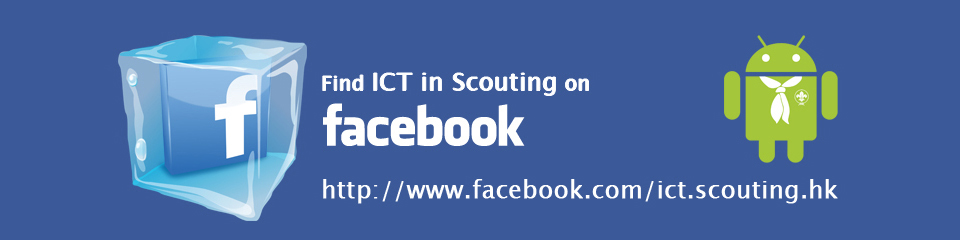 ICT in Scouting on Facebook