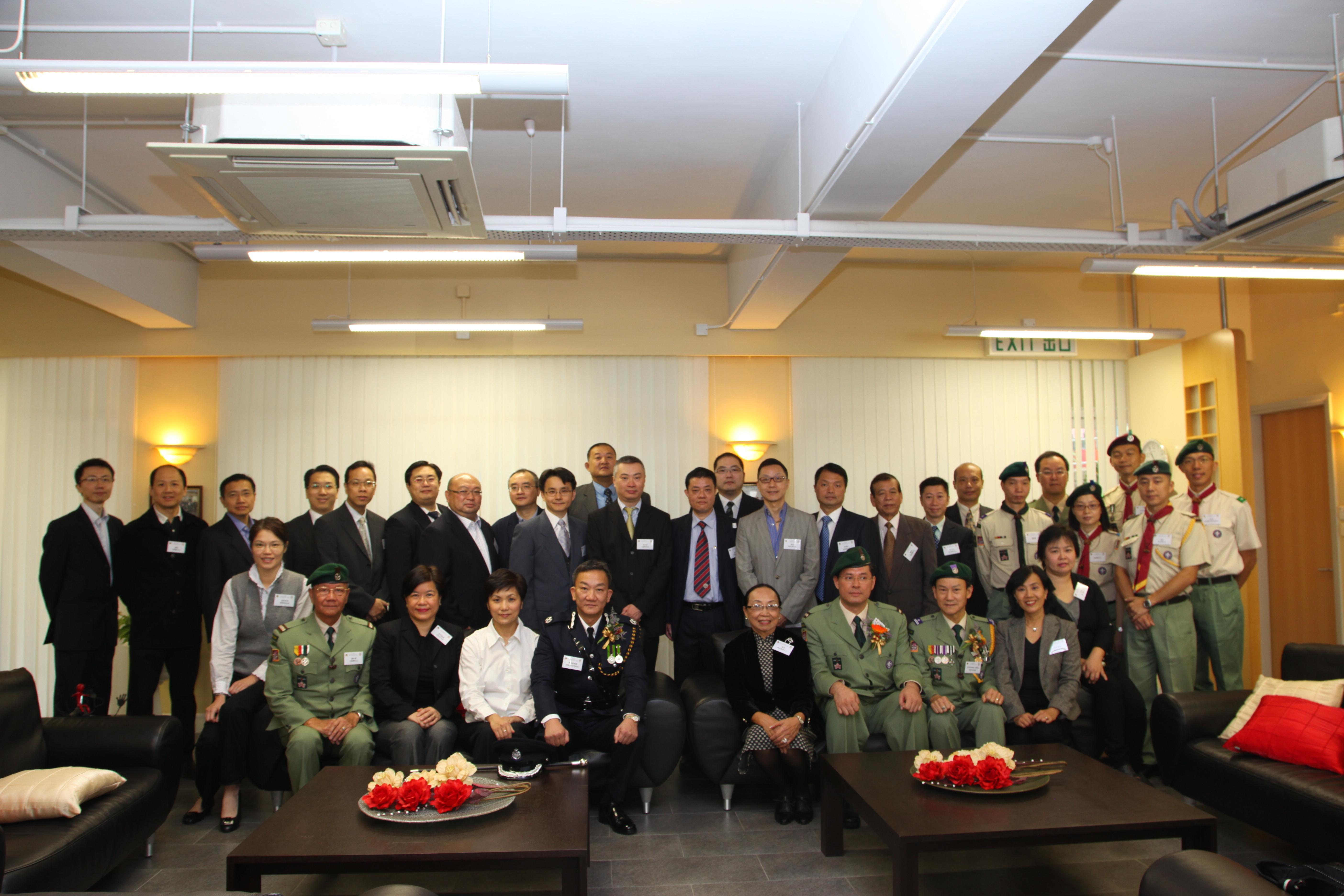 副 旅 长:林俊涛先生 旅团领袖:林伟文先生 林俊涛先生 曾建勋先生图片