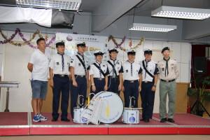 01.  新界第七海童軍旅 Bugle Band