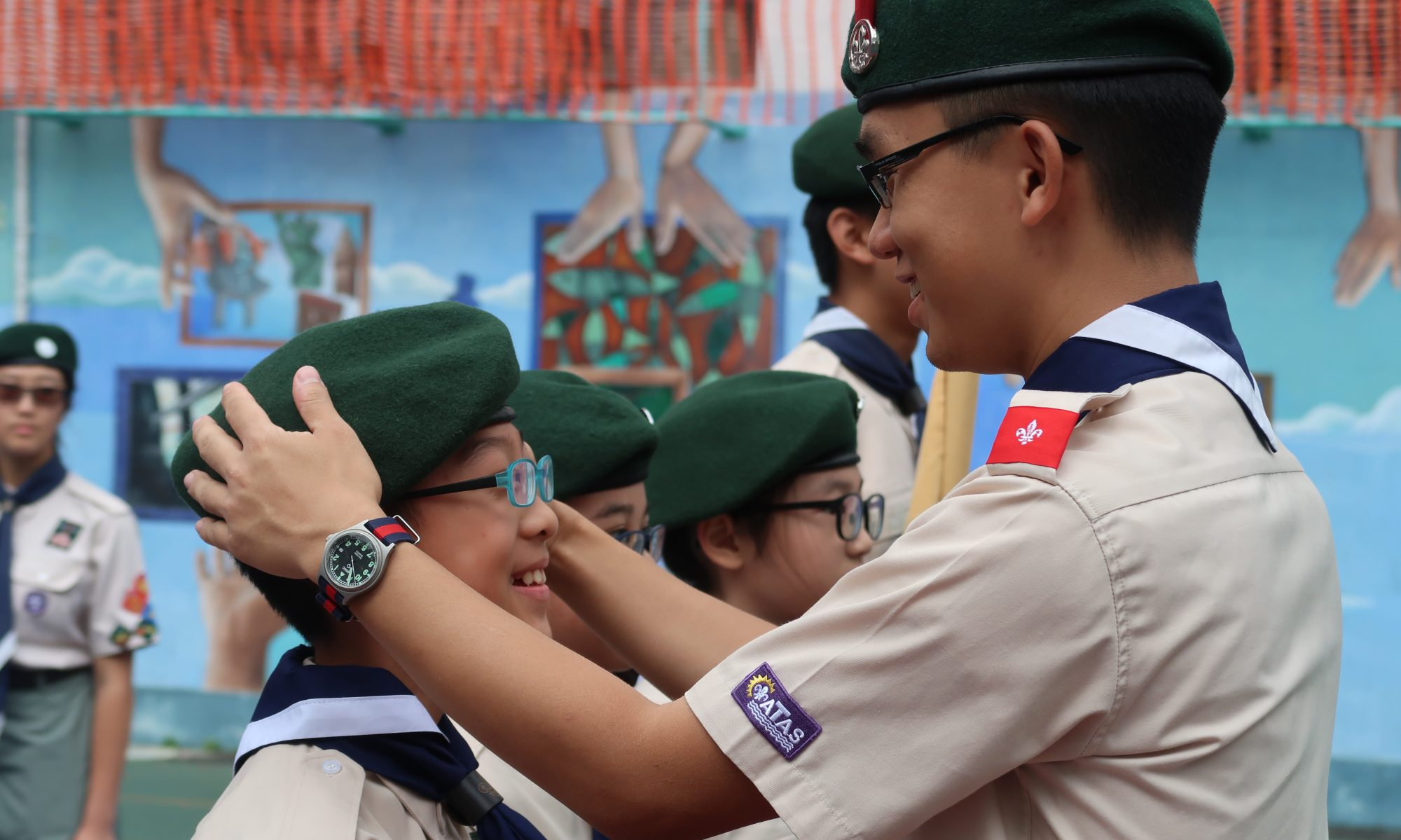 沙田西第二十旅 20th Scout Shatin west Group
